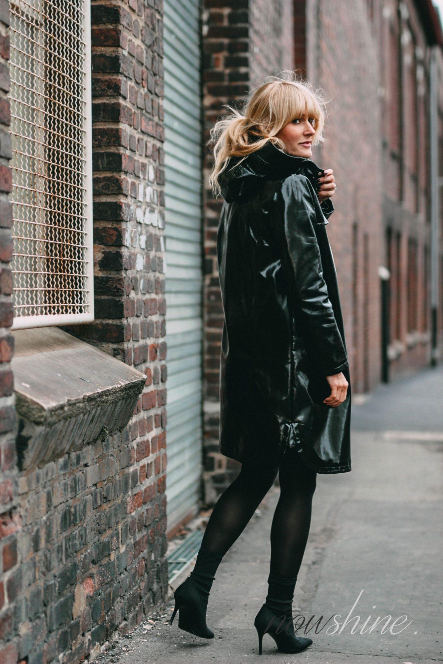 nowshine-outfit-fuer-den-osterbrunch-vinyl coat-ue40-mode-ue40-blog