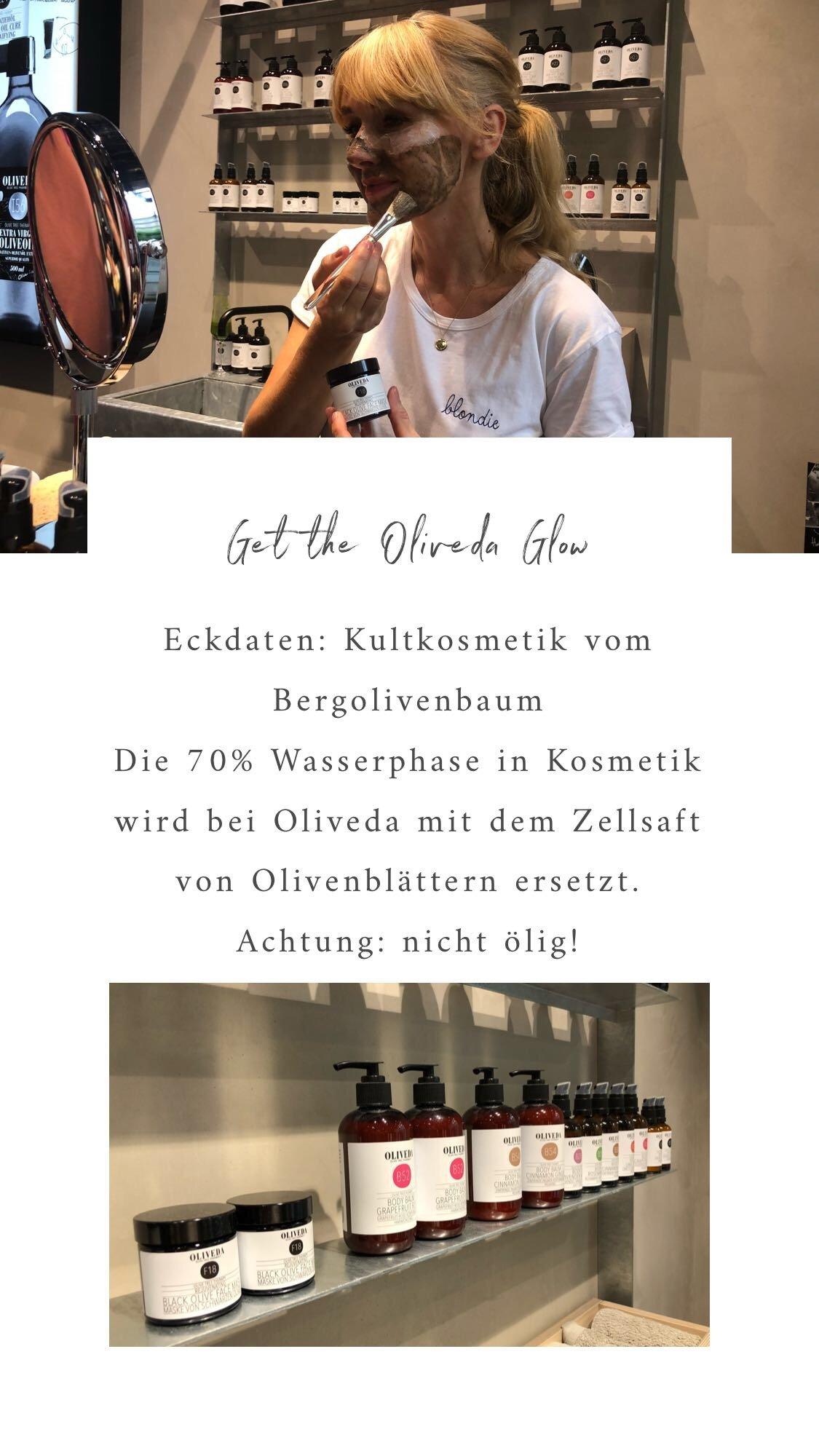 Nowshine beim Oliveda Glow Workshop in Düsseldorf - Oliveda Rabattcode - ü40 Beautyblog