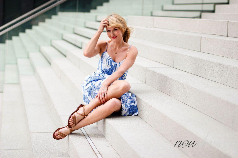 Feminine Maxikleider für den Sommer - Modeblog über 40 - Hyatt Regency Düsseldorf