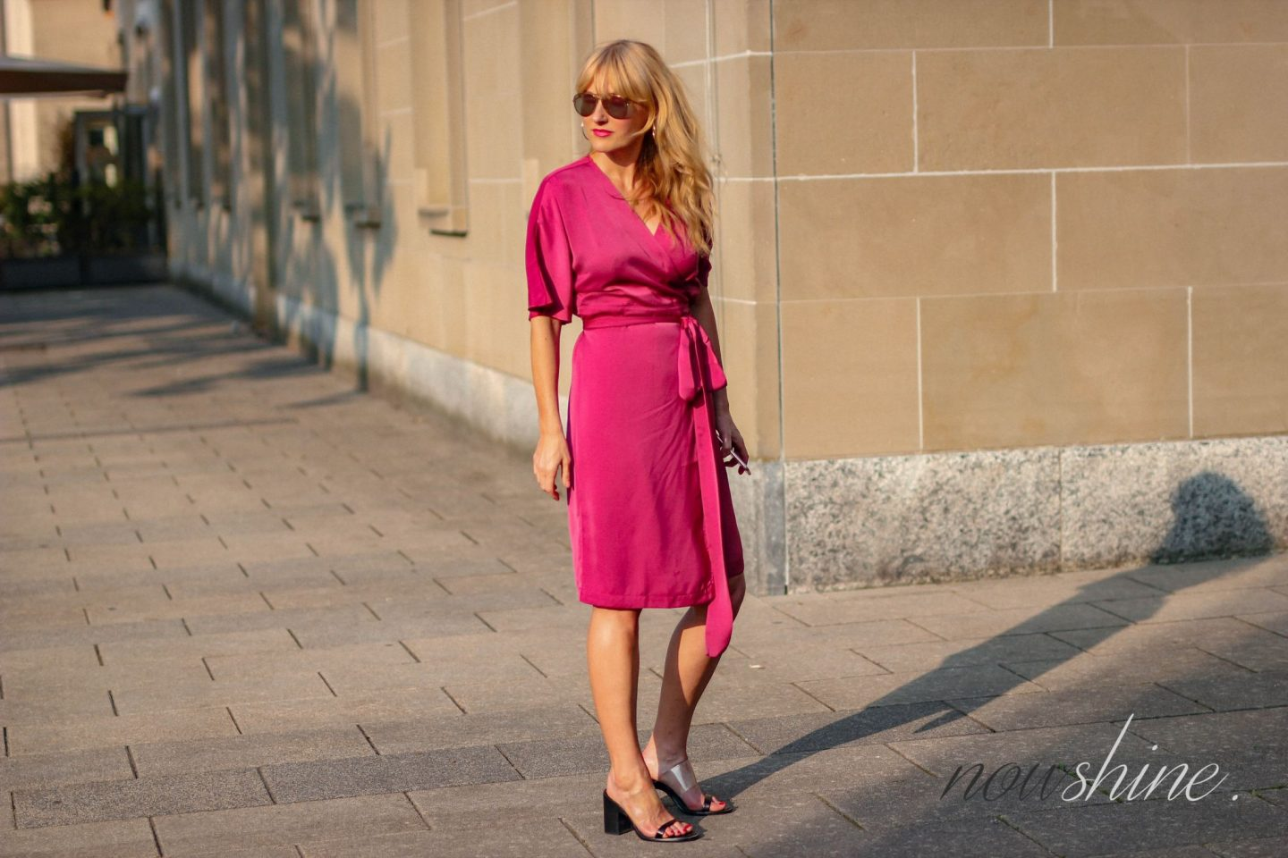 Wrap Dress - Wickelkleid im Kimono Stil von Edited - Nowshine ü 40 Blog