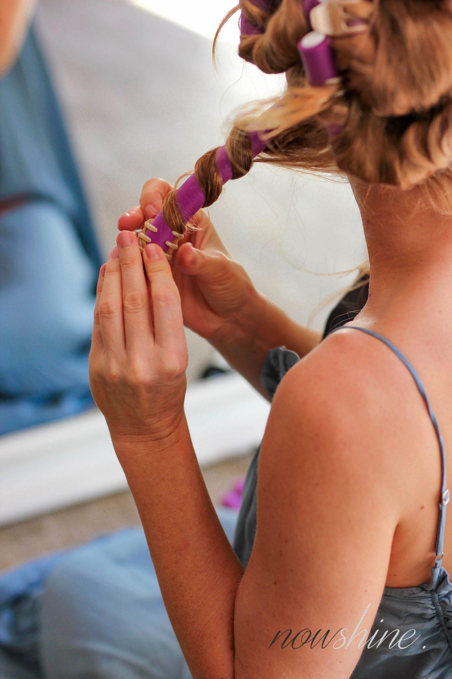 Wellen und Locken ohne Hitze - easy Beach Waves für den Sommer - Flex Wickler - Haare - Beautyblog ü 40