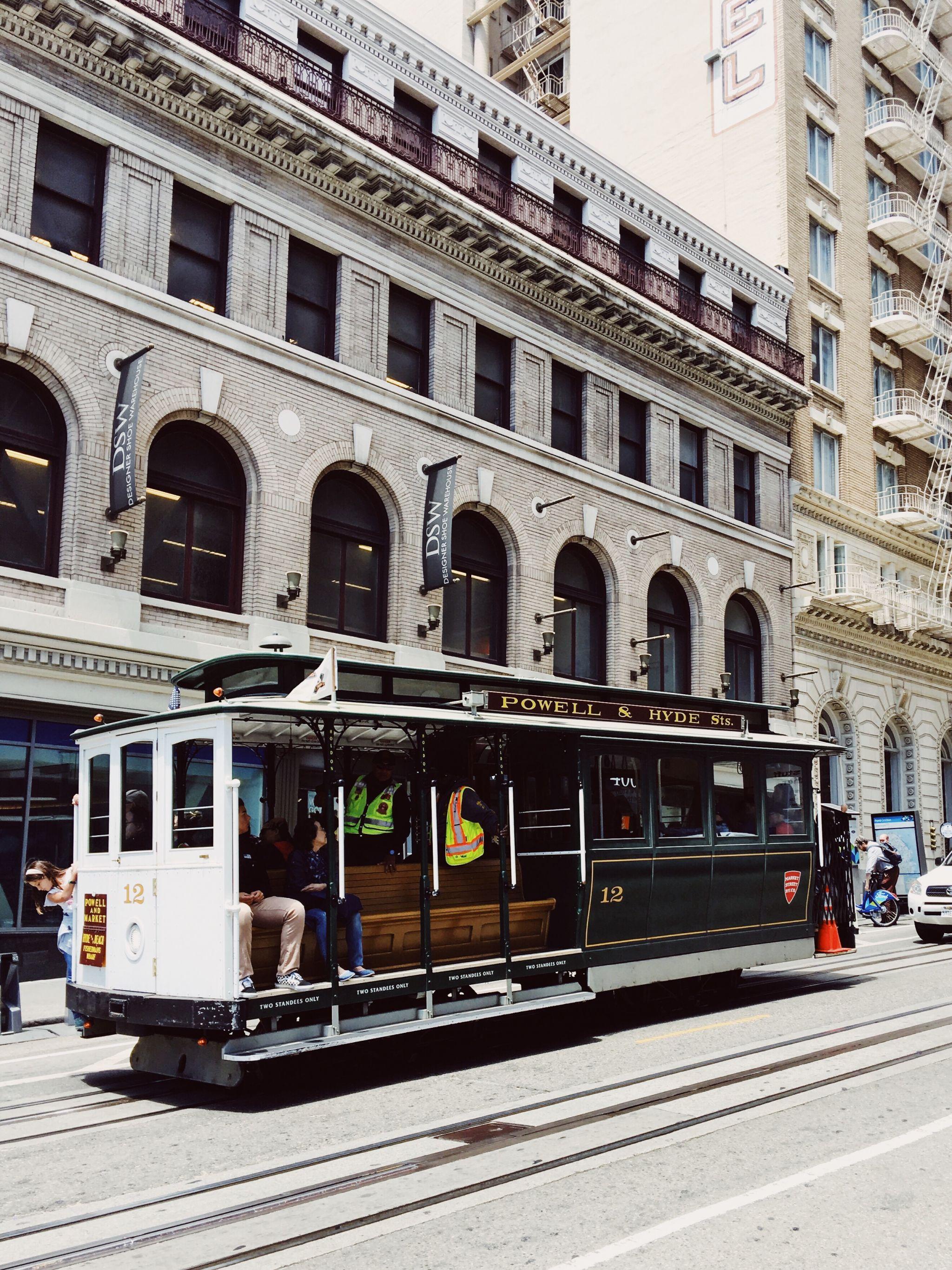 Die Marina/ Chestnut Street Gegend in San Francisco - Nowshine ü40 Reiseblog - Cable Car