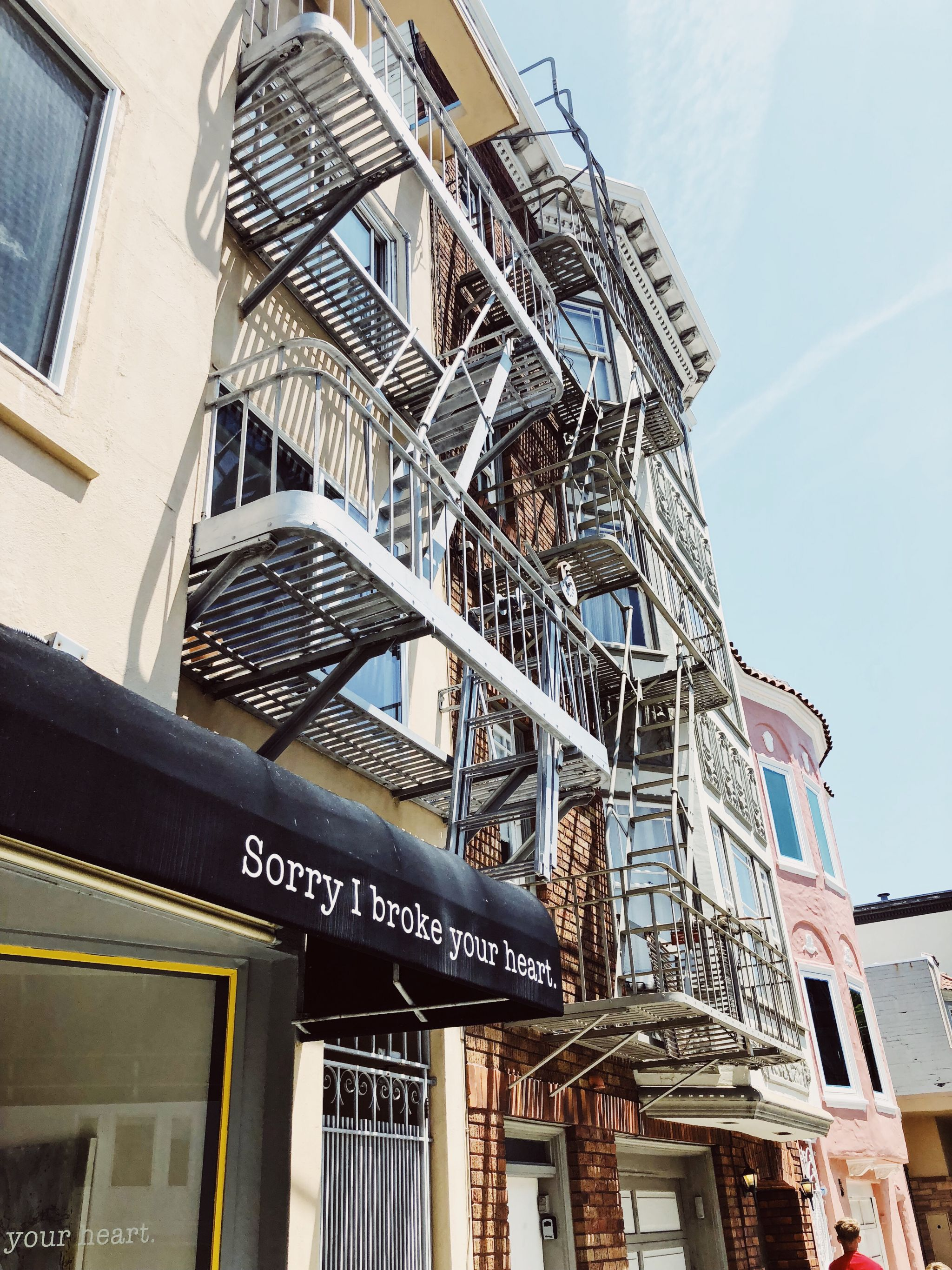 Die Marina/ Chestnut Street Gegend in San Francisco - Nowshine ü40 Reiseblog - Sorry I broke your heart