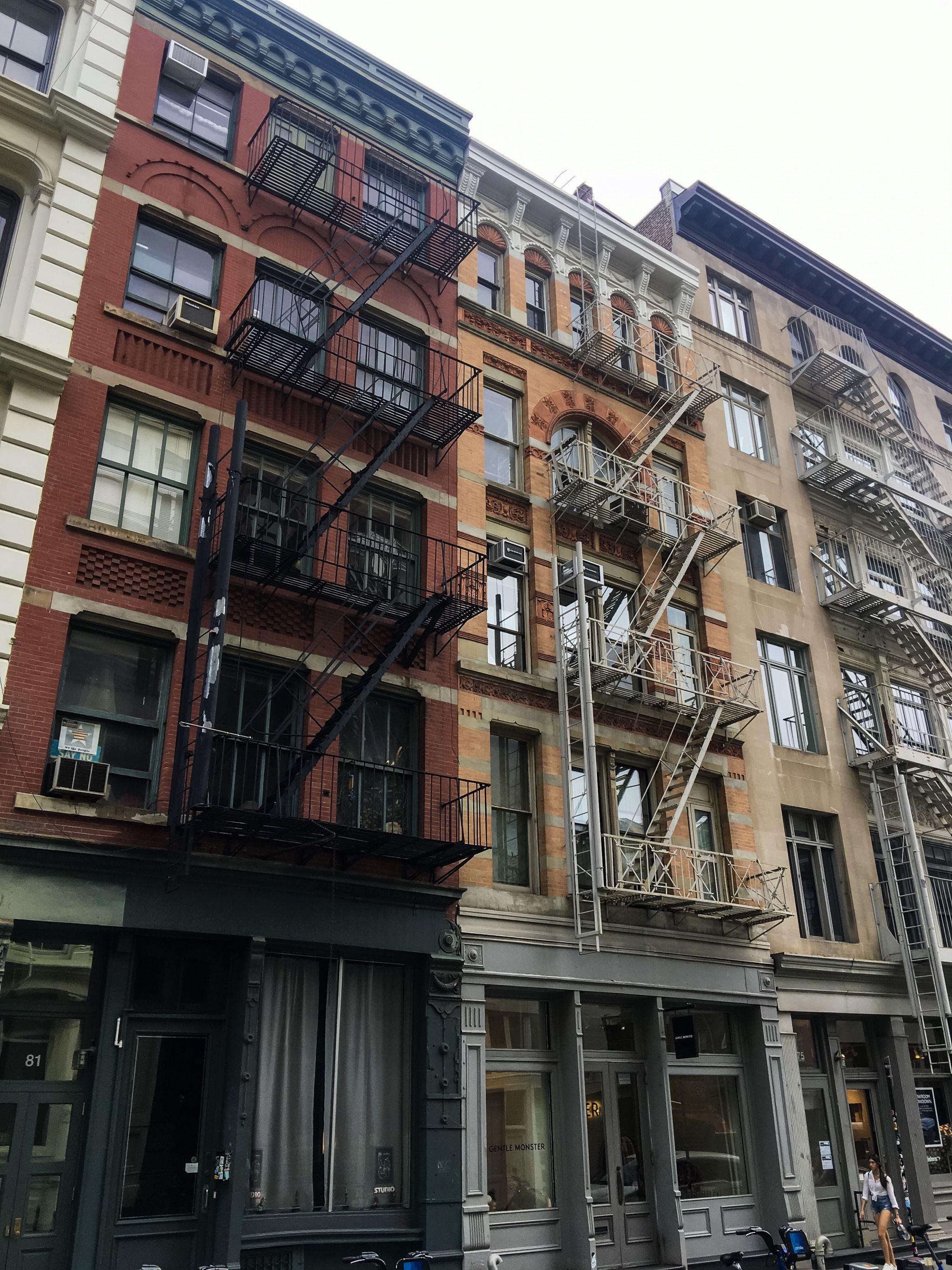 4 Tage in New York City - Häuser in SoHo - Nowshine Reiseblog ü 40