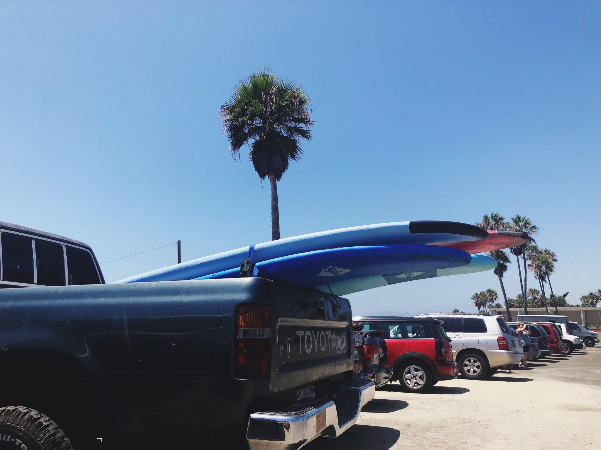 Los Angeles Tipps und Empfehlungen - Venice Beach Parken - Reiseblog ü 40