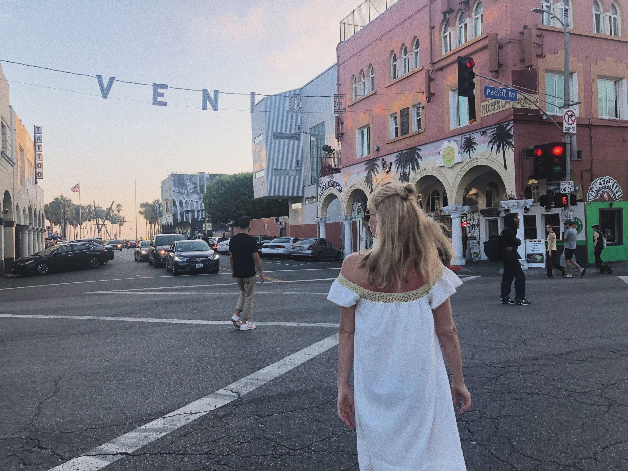 Los Angeles Tipps und Empfehlungen - Venice Sign - Reiseblog ü 40
