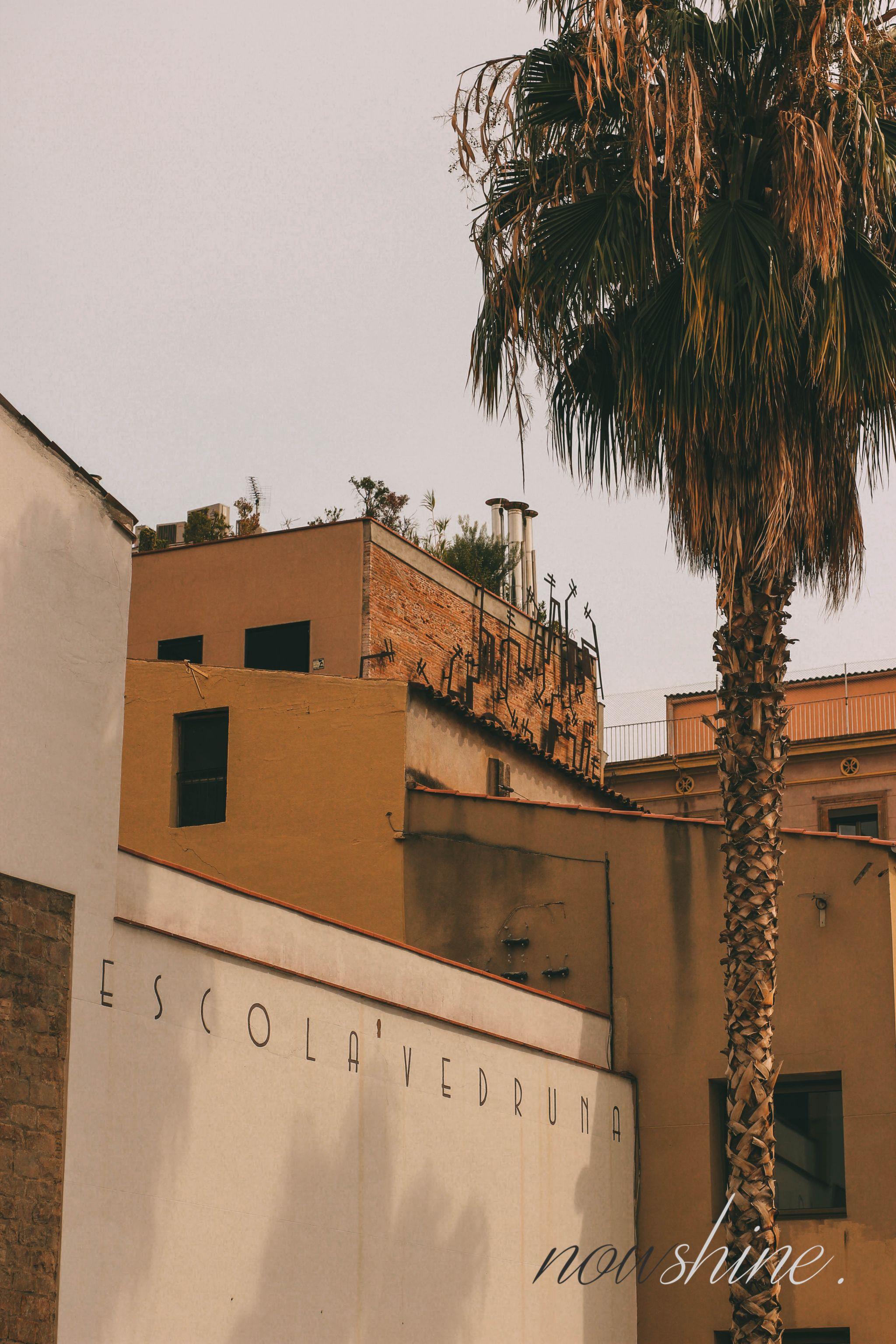 Kurztrip nach Barcelona - Nowshine Reisetipps - Escola Vedruna