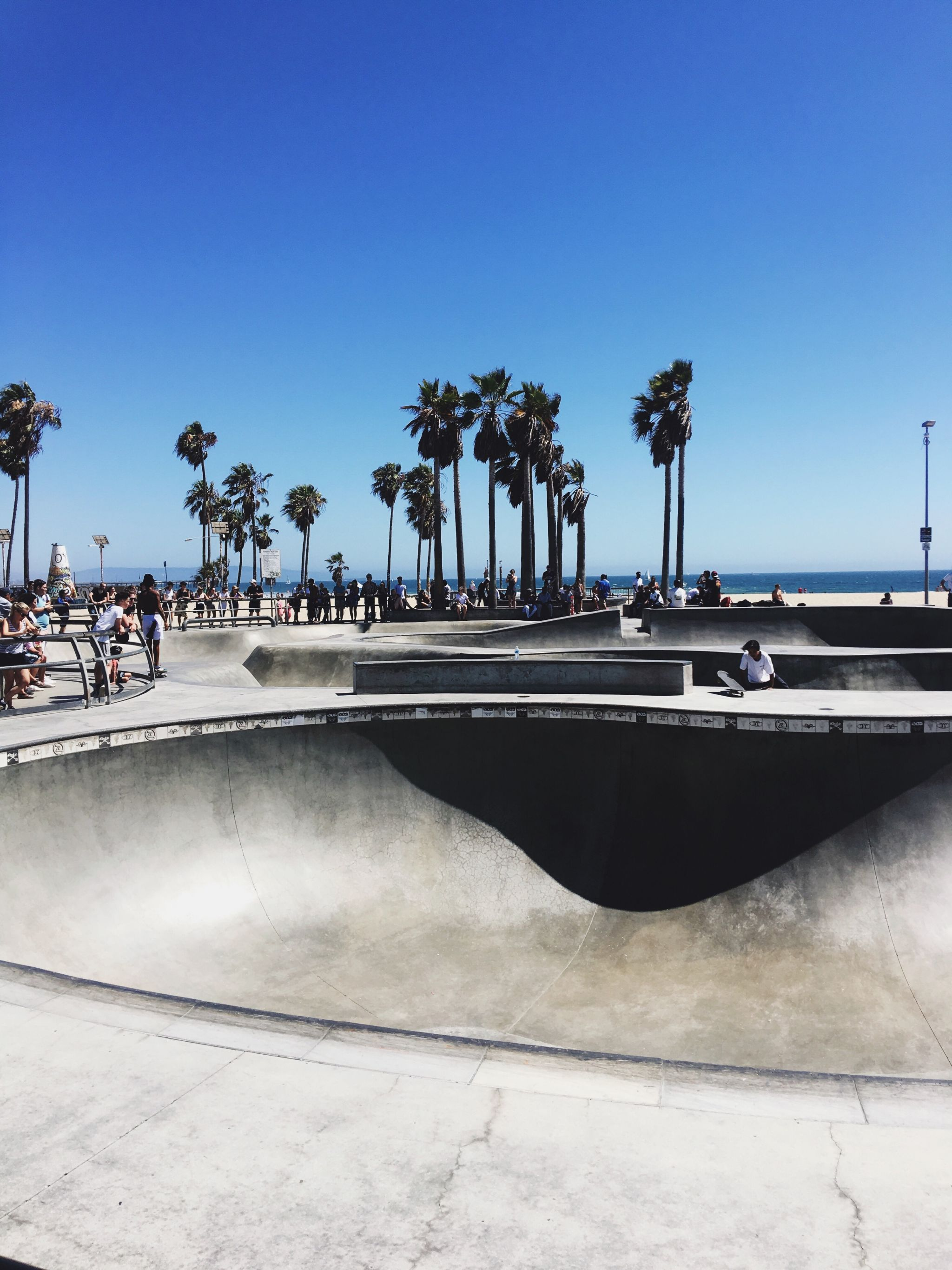 Los Angeles Tipps und Empfehlungen - Venice Beach Skate Park - Reiseblog ü 40