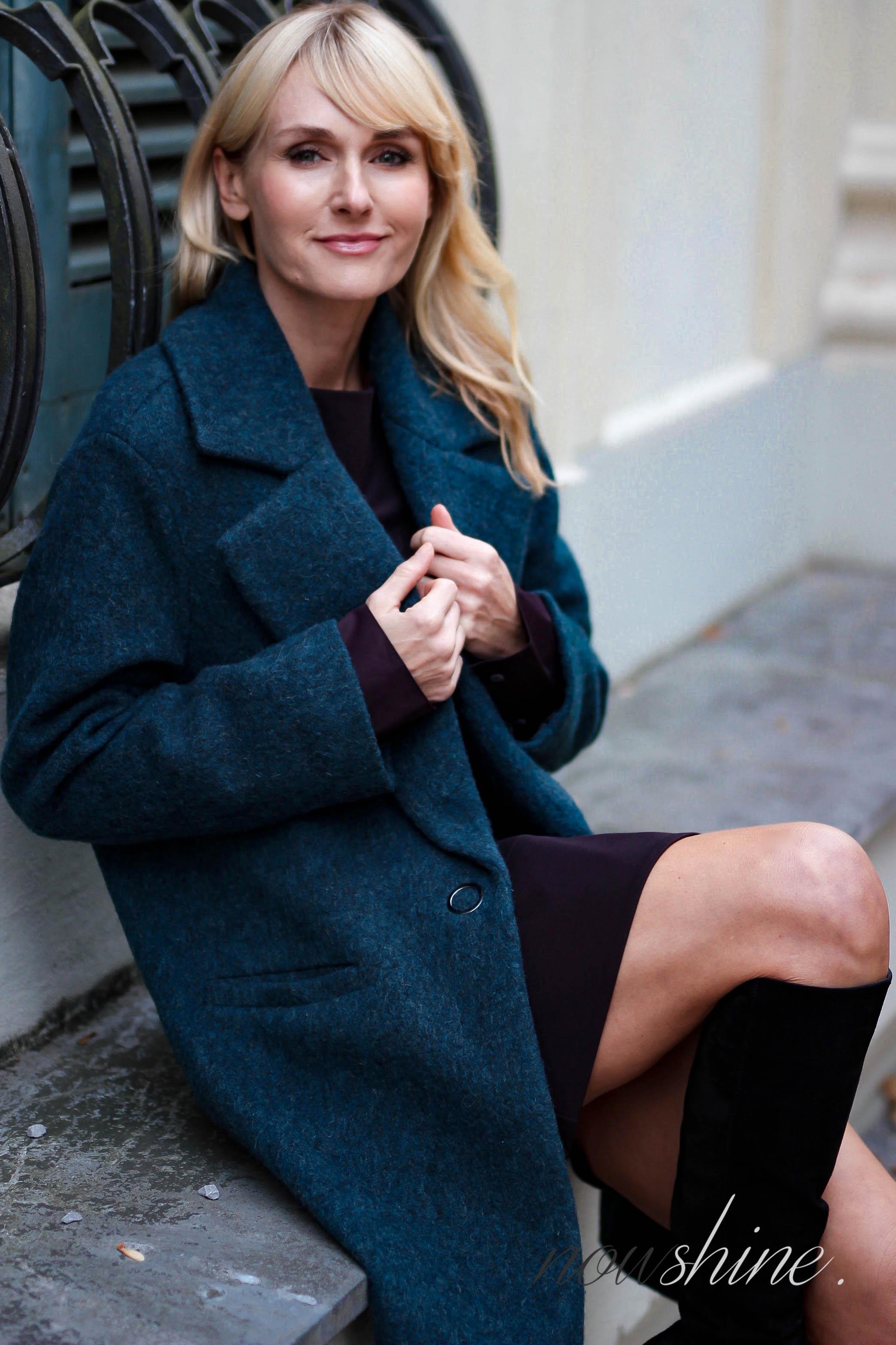 Capsule Wardrobe im Herbst - Blazermantel im Oversized-Look von Bonita