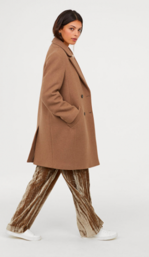 Mantel in Camel