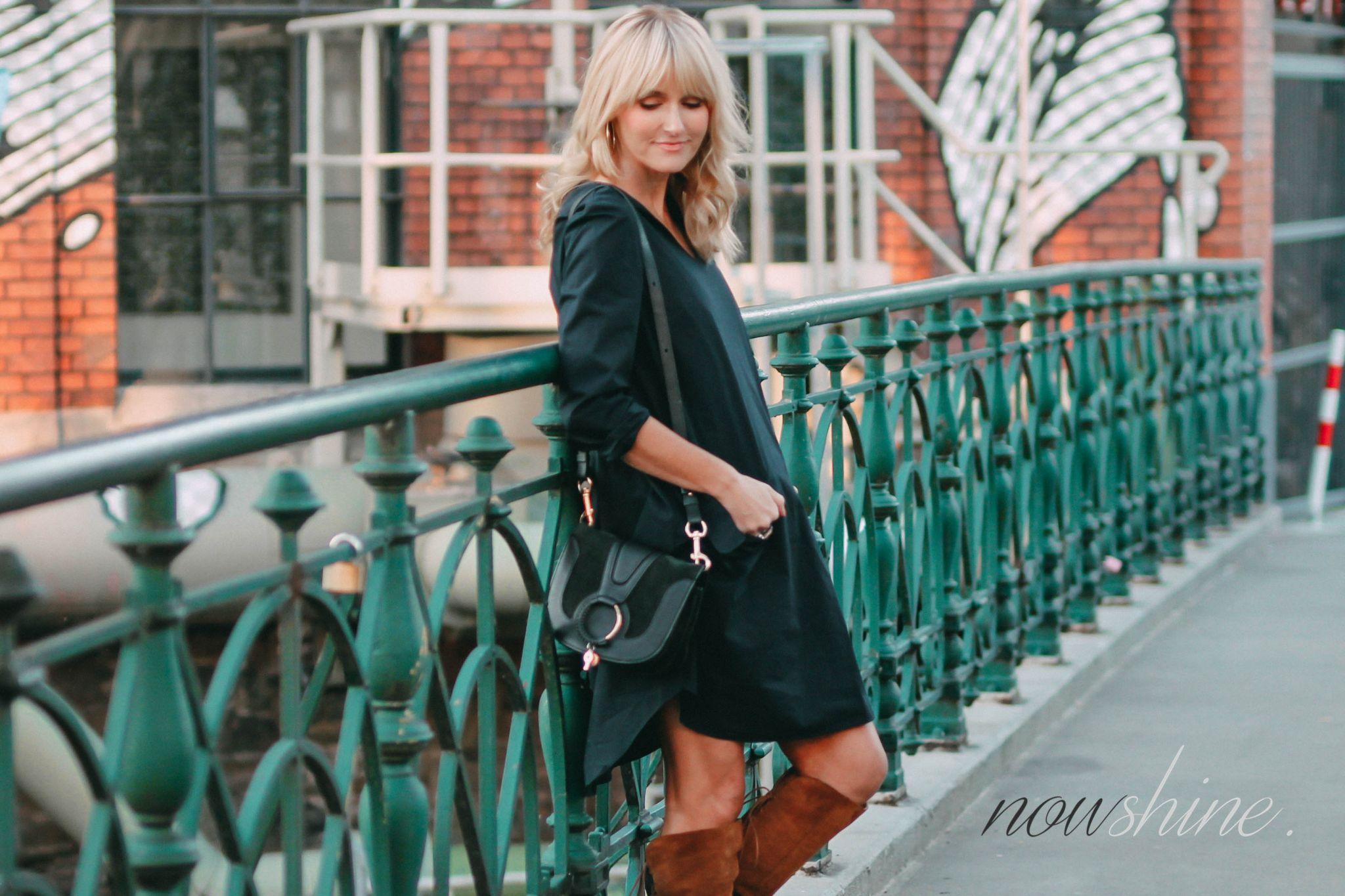 COS Kleid in Navy - Nowshine ü40 Fashionblog