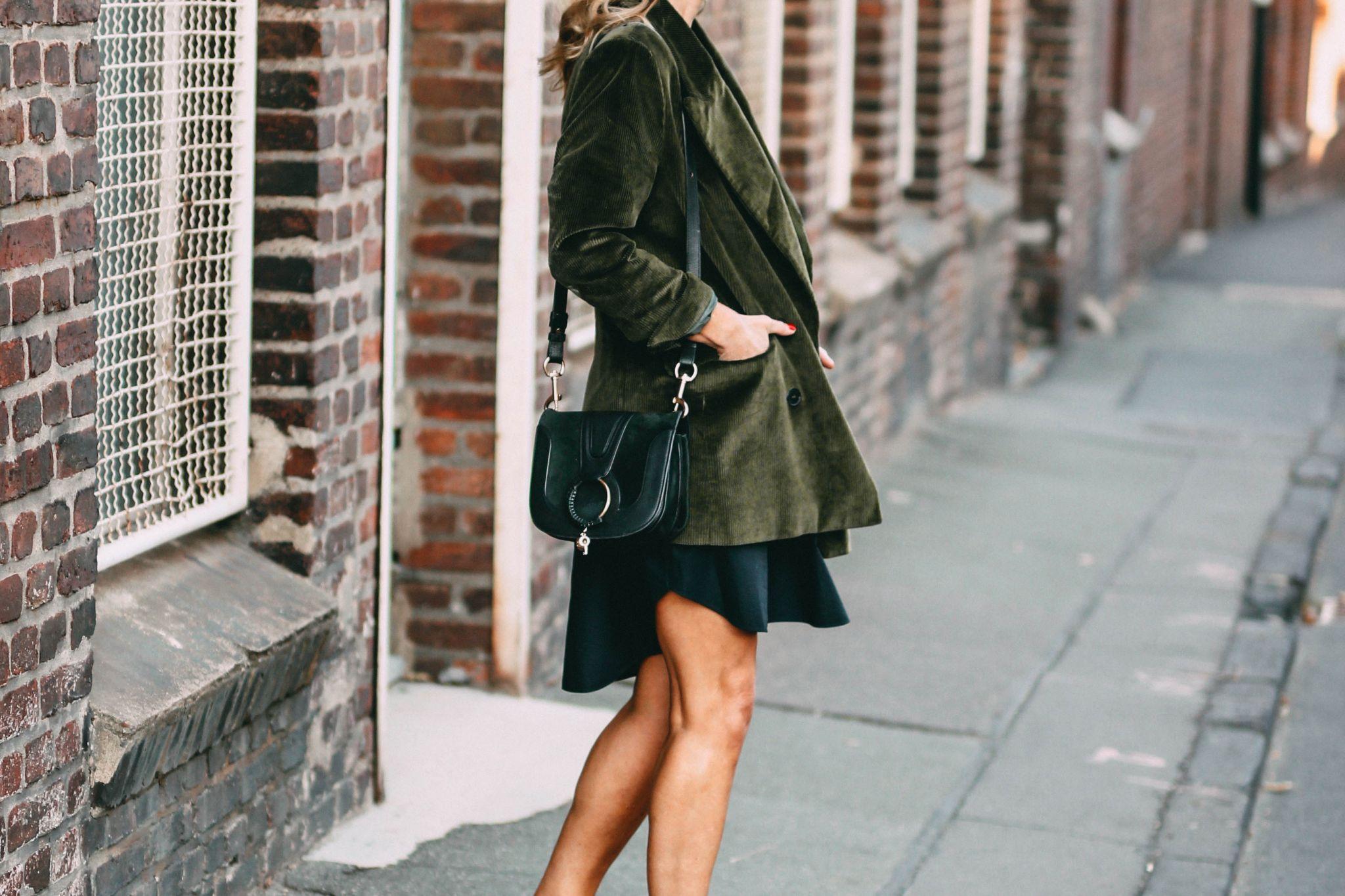 Nowshine ü 40 Modeblog - Herbstoutfit - Cordblazer