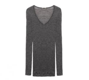Shirt aus Wolle und Seide