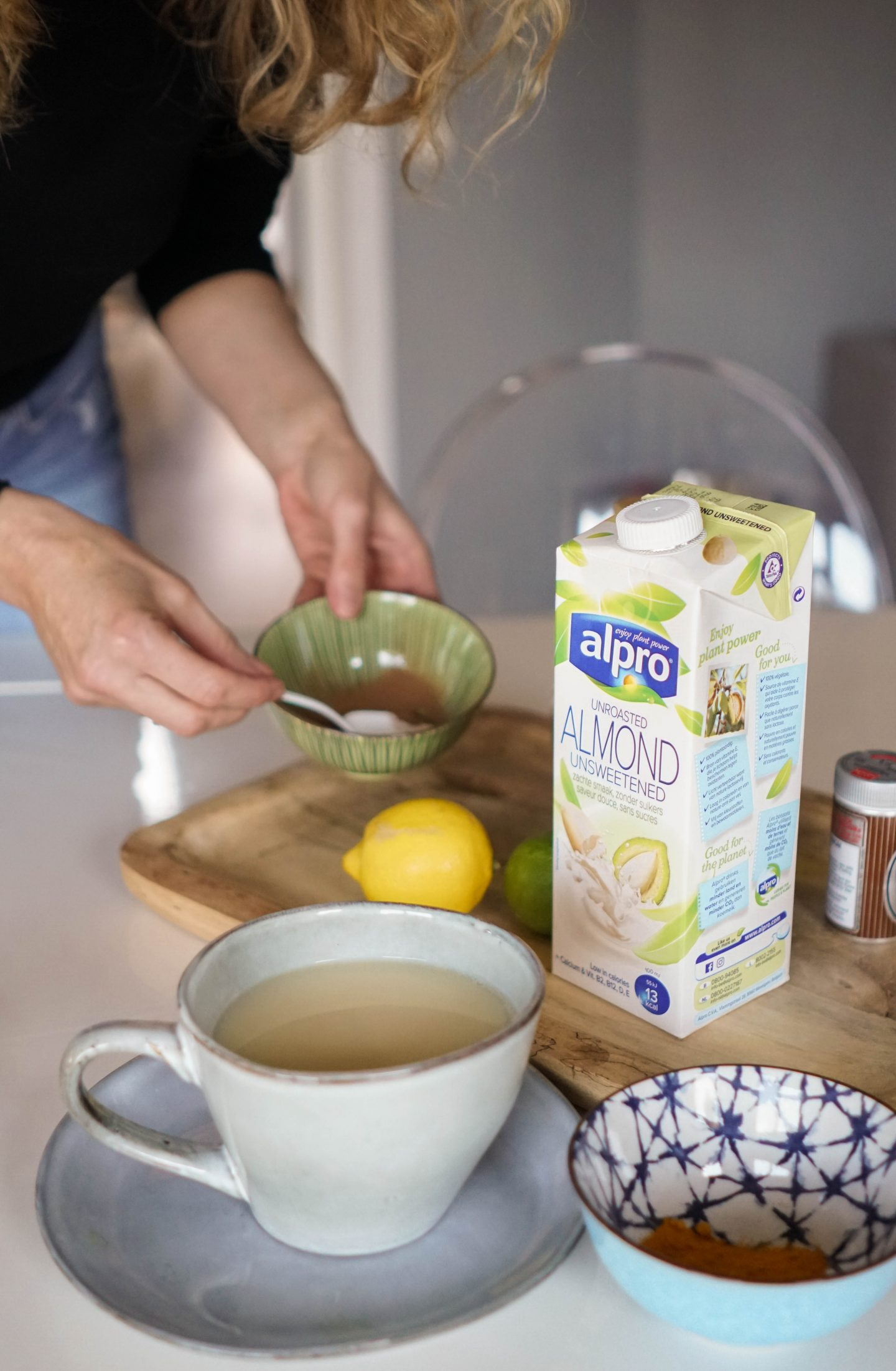 Alpro Mandeldrink ungesüßt-Nowshine Lifestyle Blog-Ernährung-Zuckerbewusstsein