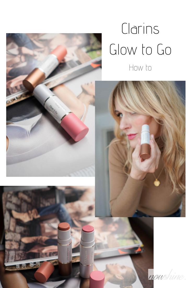 Yoga Skin-Glowy Skin-Soft Contour-Clarins Glow to Go Review-Makeup Tutorial-Nowshine Beauty Blog