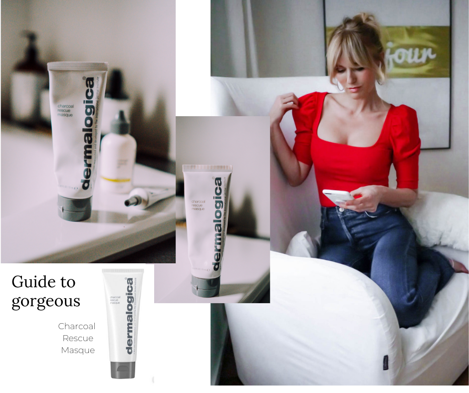 Dermalogica Erfahrungen - Nowshine Beauty Blog über 40 - Charcoal Rescue Masque
