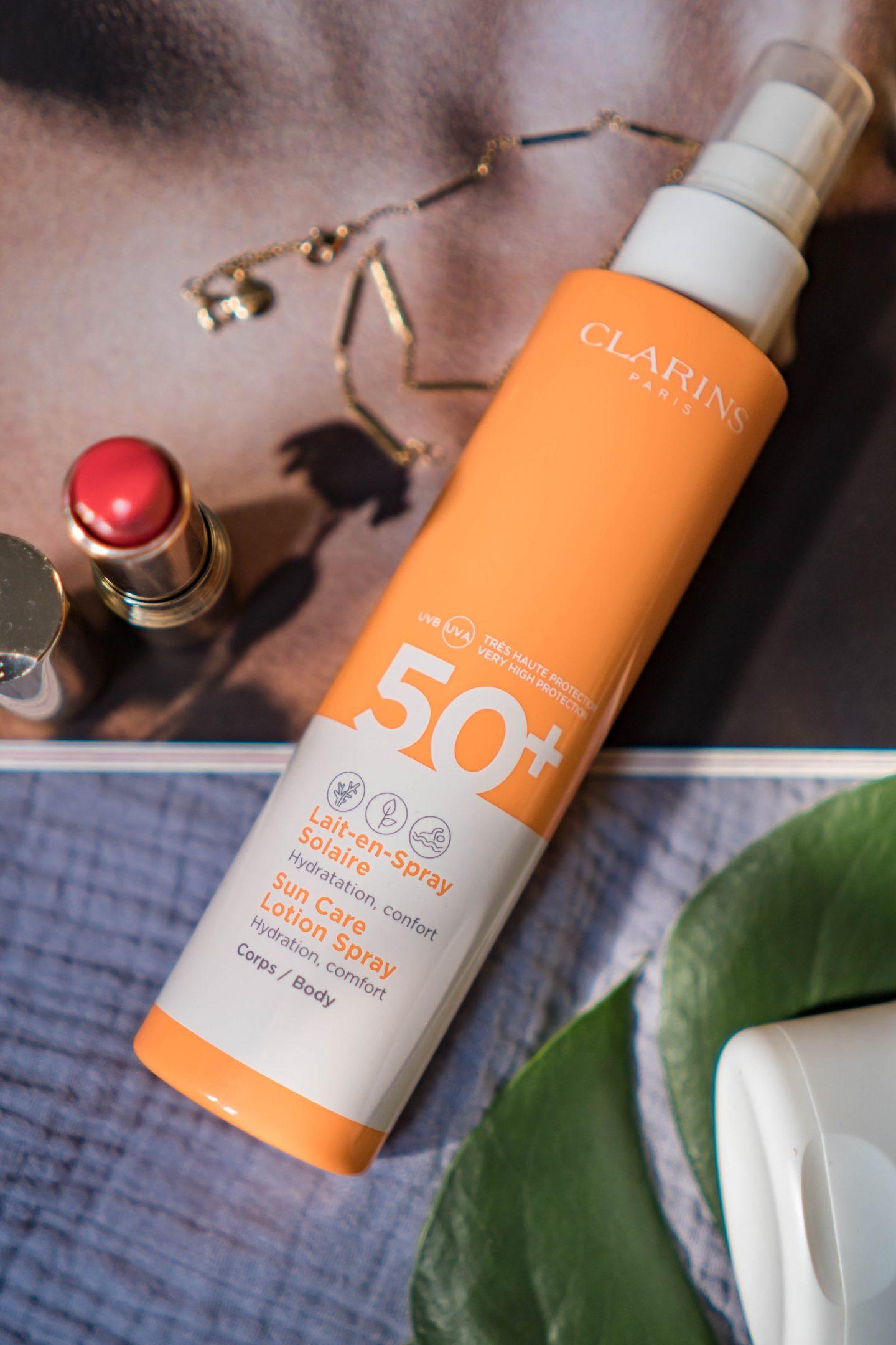 Sun Care Gel-to-Oil/ Gel-en-Huile Solaire von Clarins - Erfahrungen - Nowshine Beauty Blog über 40