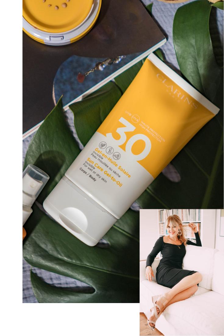 Sun Care Lotion Spray/ Lait-en-Spray Solaire - Nowshine Beauty Blog over 40