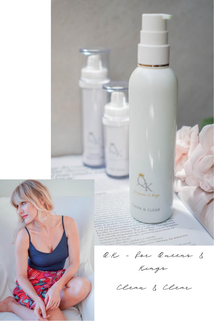 QK - for Queens & Kings, Erfahrungen, Review, Inhaltsstoffe, Clean & Clear, Nowshine Beauty Blog über 40