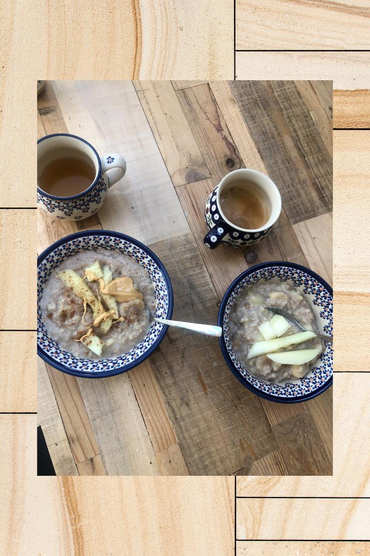 Ernährung, Ayurveda,Haferflocken,Frühstücksbowl
