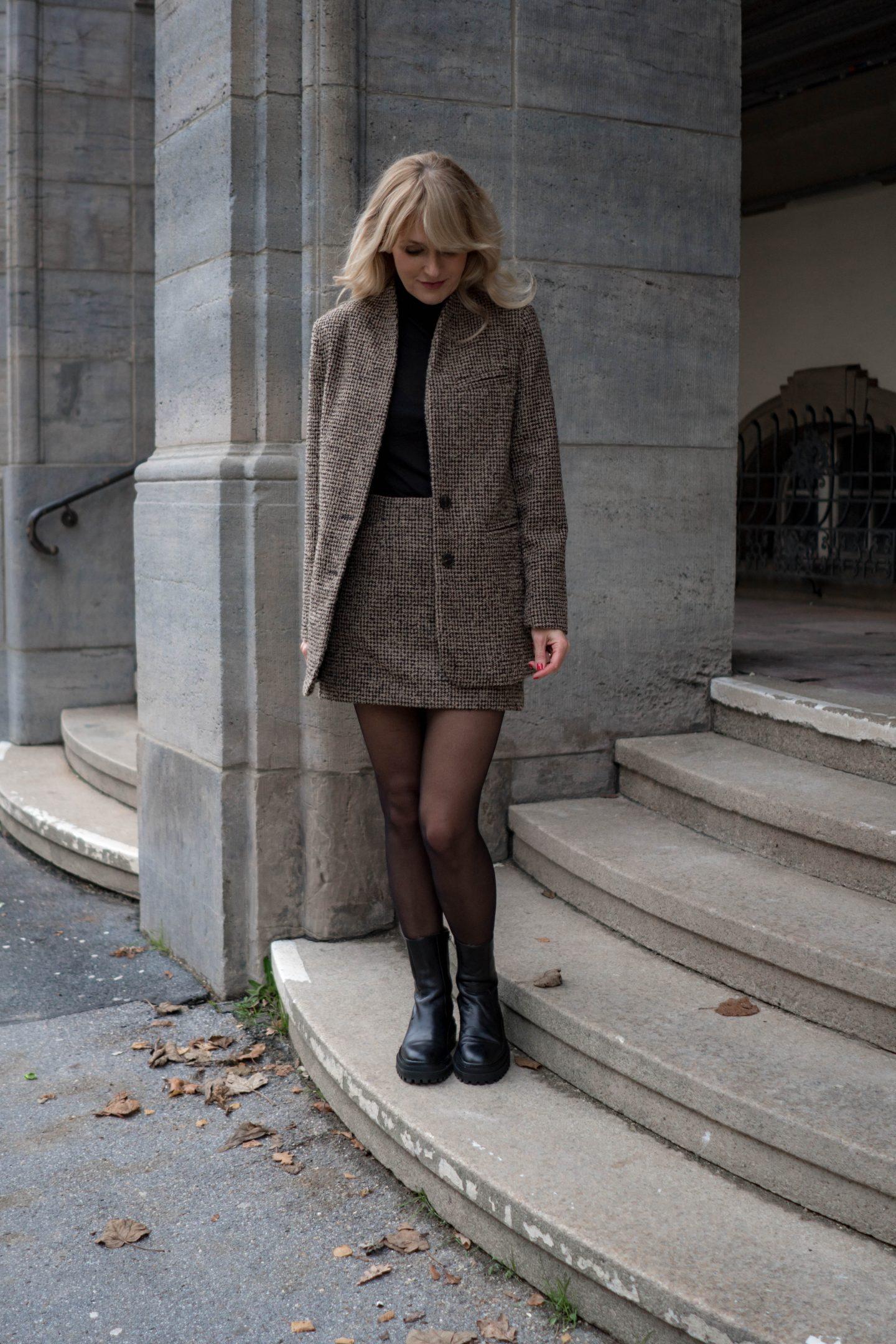 Chunky Boots Trend - Klobige Stiefeletten wie Balenciaga von Zara -  Stiefel mit robuster Sohle - Nowshine Fashion Blog über 40