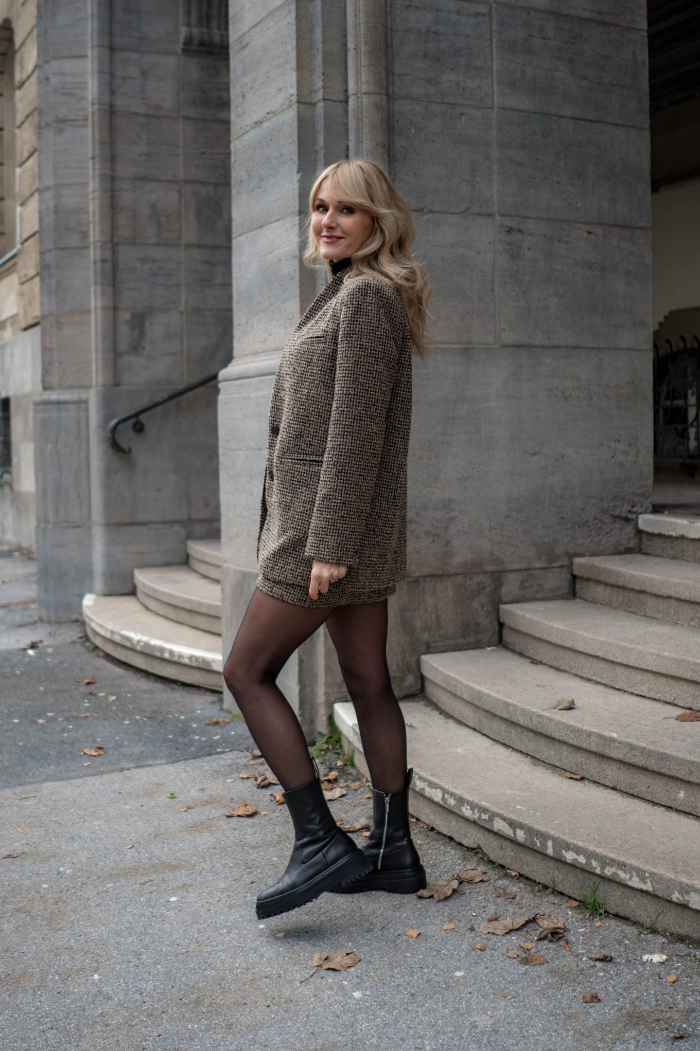 Chunky Boots Trend - Nowshine Fashion Blog über 40