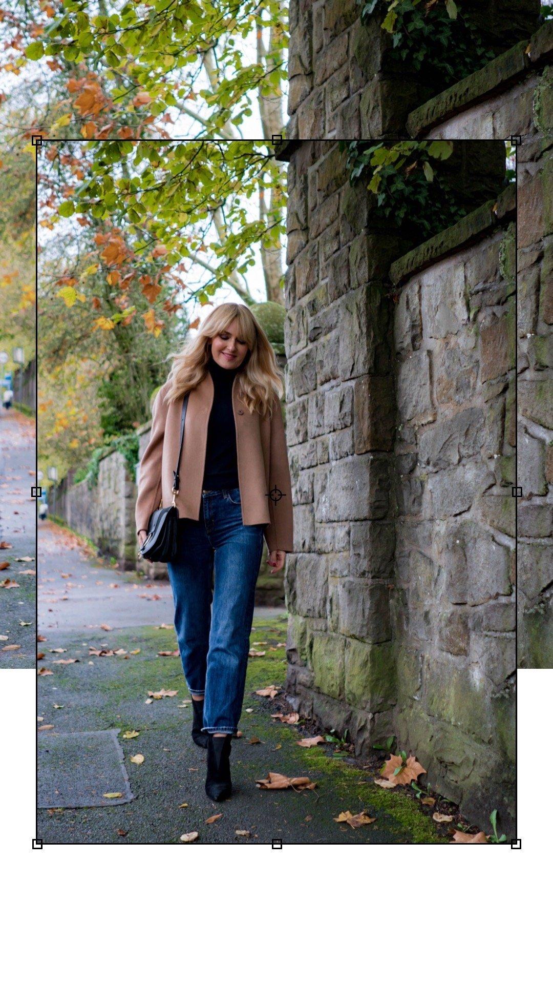 Jacke aus Wolle & Kaschmir - h&M Premium - Nowshine Modeblog ü40