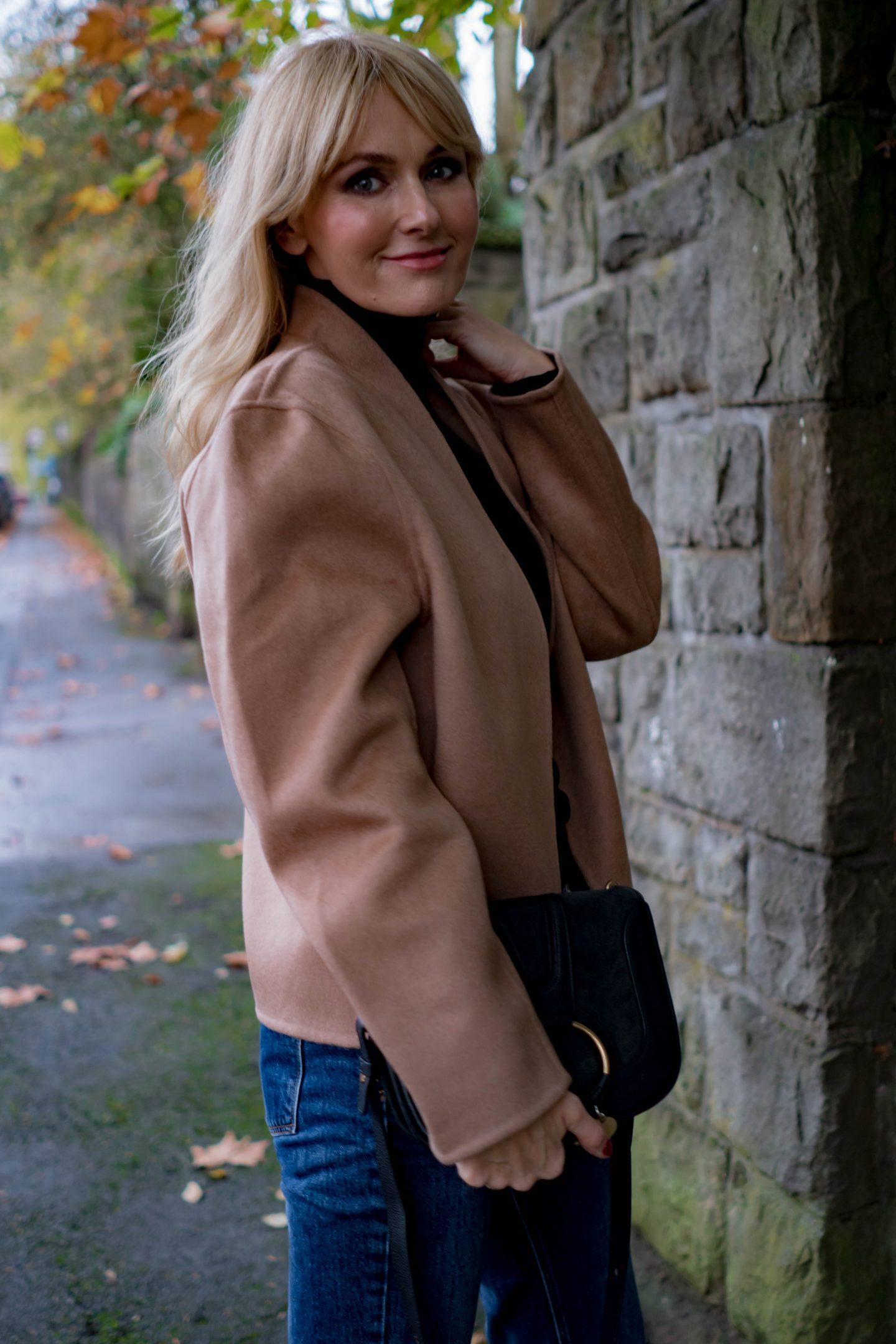 Herbstlook Teil 3 - Jacke aus Wolle & Kaschmir - Nowshine Modeblog ü40