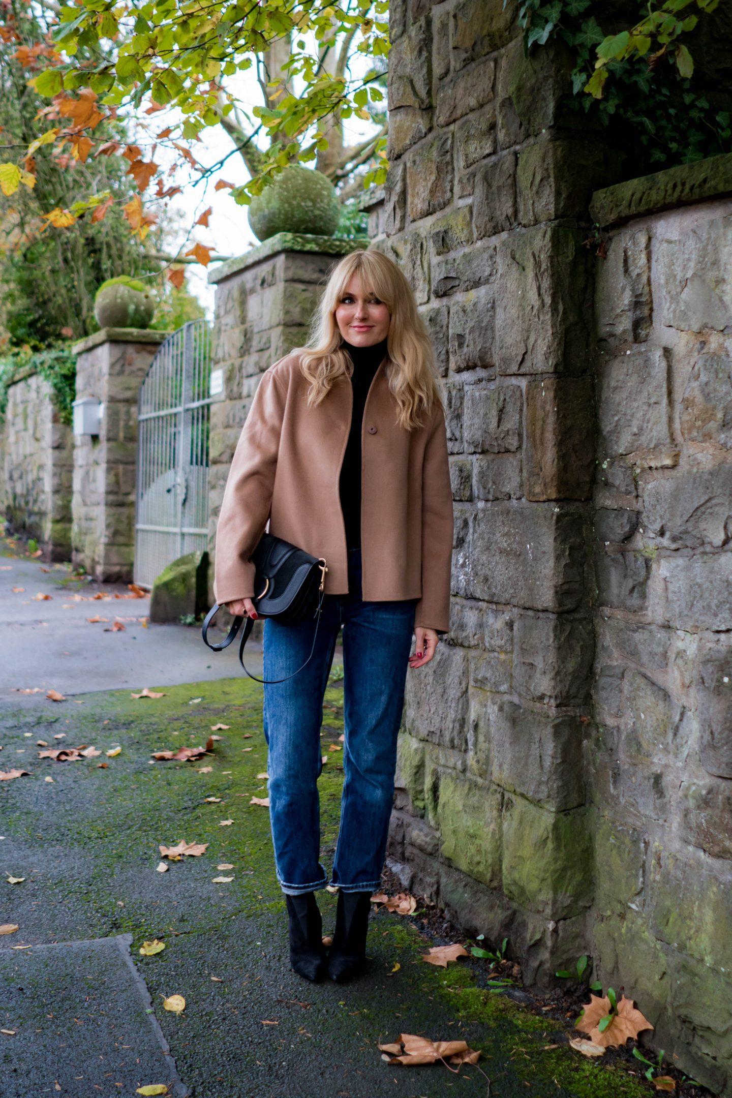 Jacke aus Wolle & Kaschmir  - Nowshine Modeblog ü40