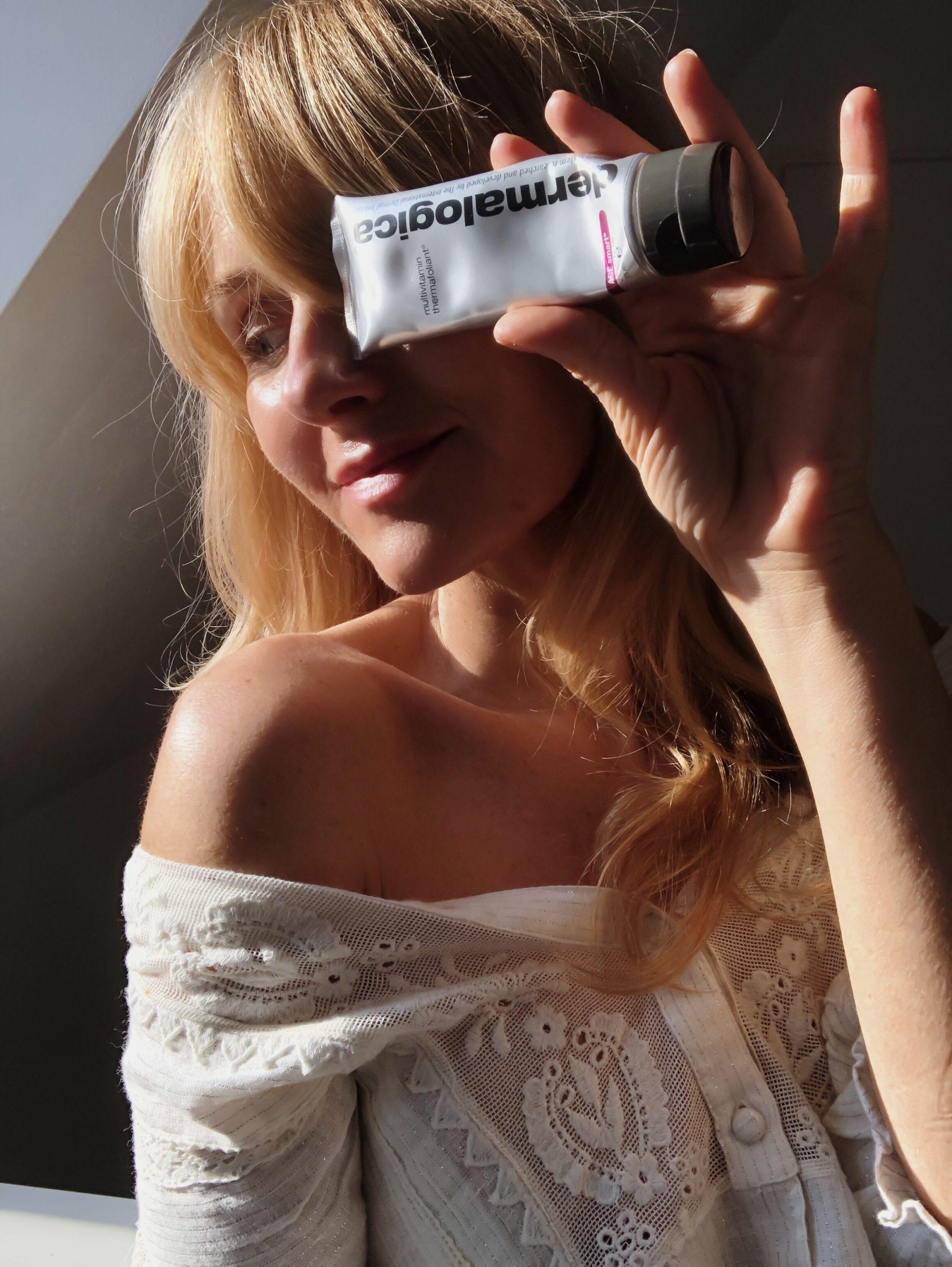 AHA und BHA - Dermalogica Multivitamin Therafoliant Erfahrungen Review - Beauty Blog über 40
