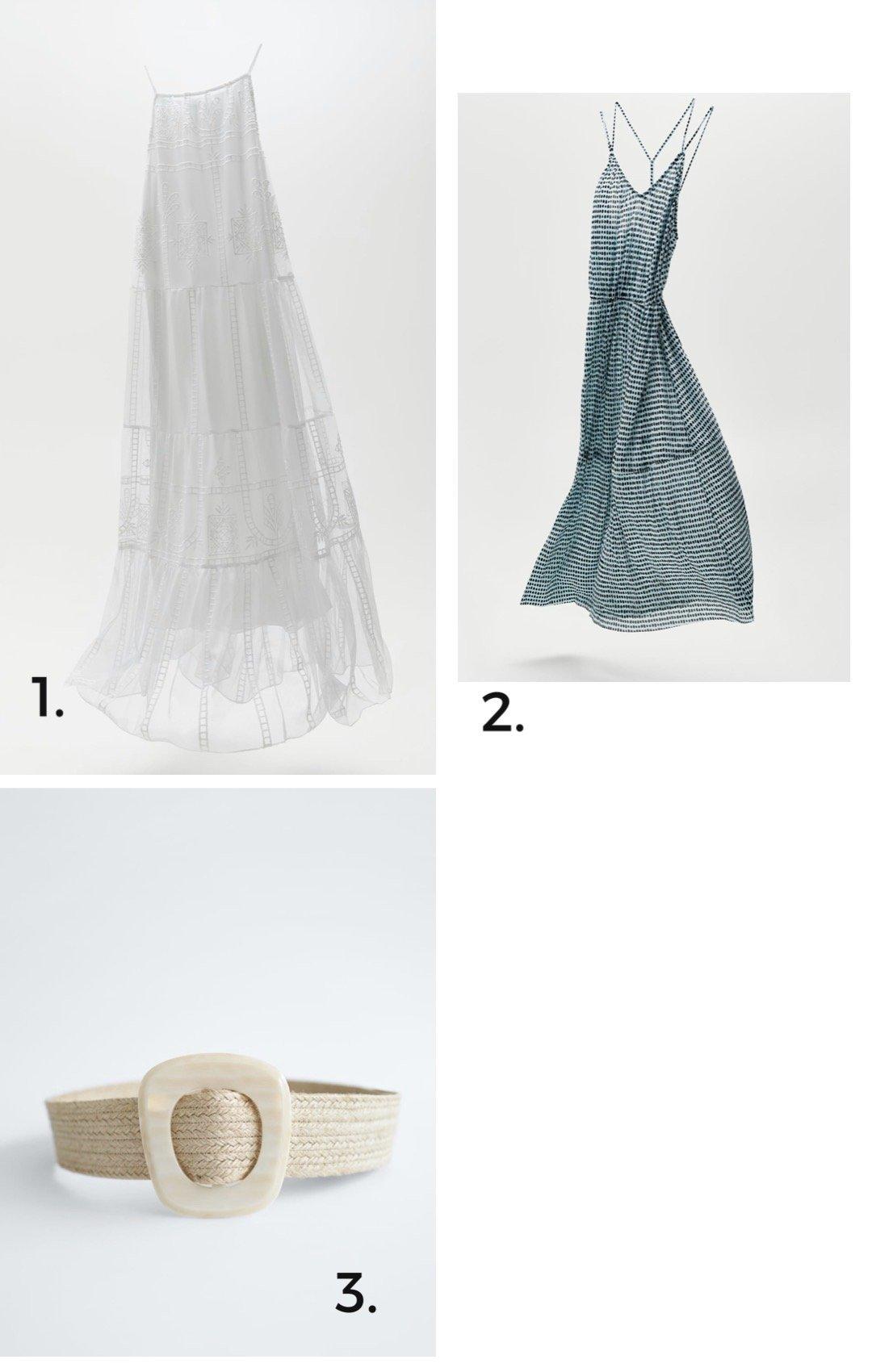 Kleider für den Sommer von Zara