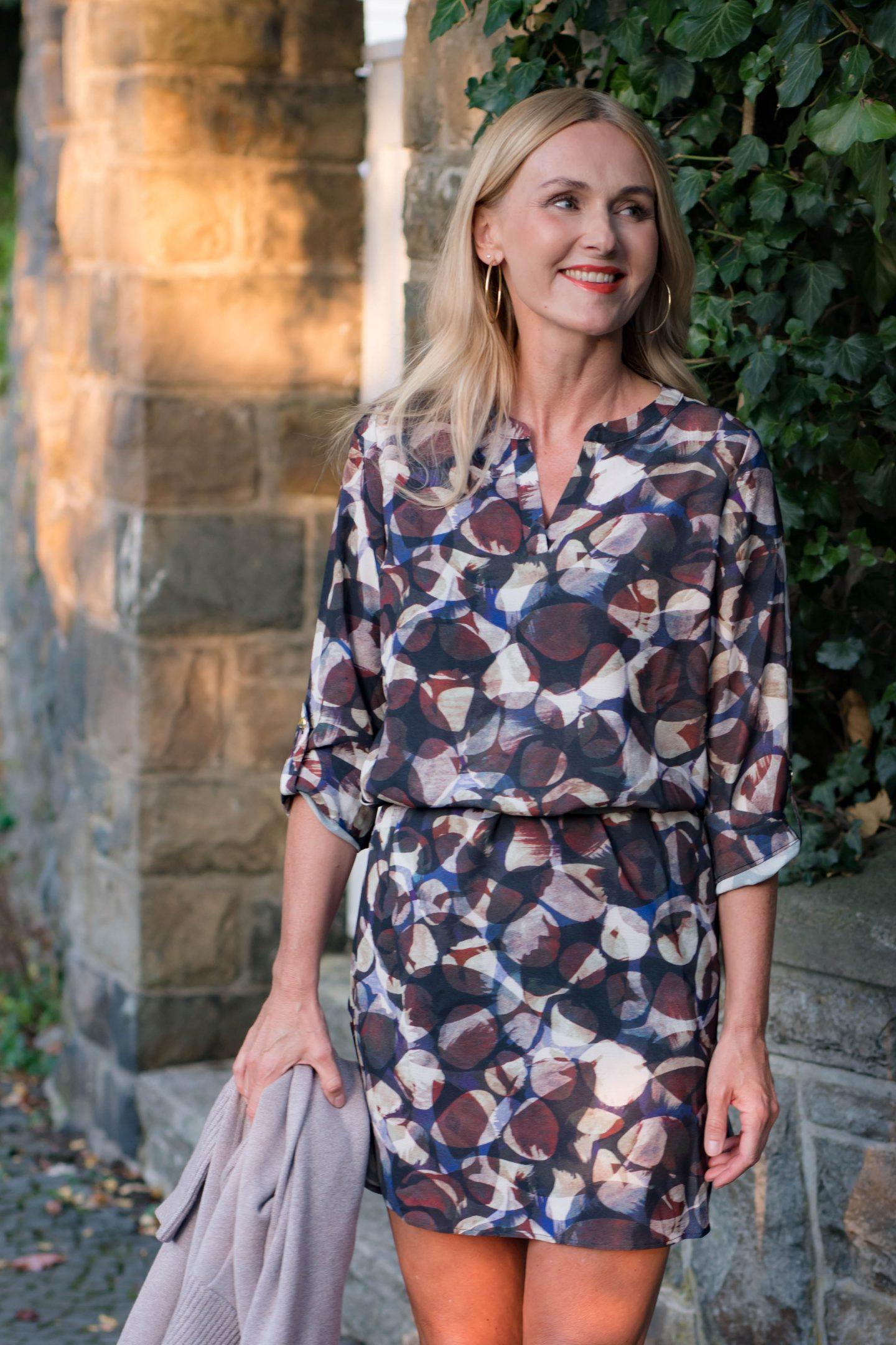 Herbst 2020 Outfit Kleid von Amy Vermont