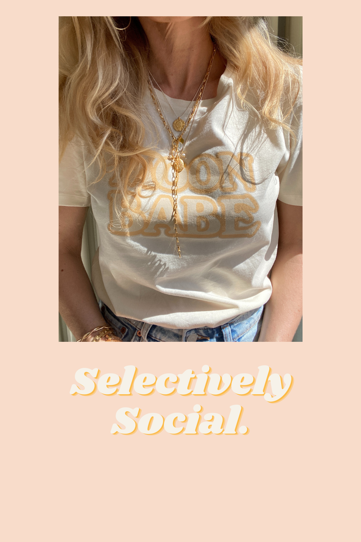 Moon Babe Lori haberkorn T-shirt- Nowshine Inner Circle Community