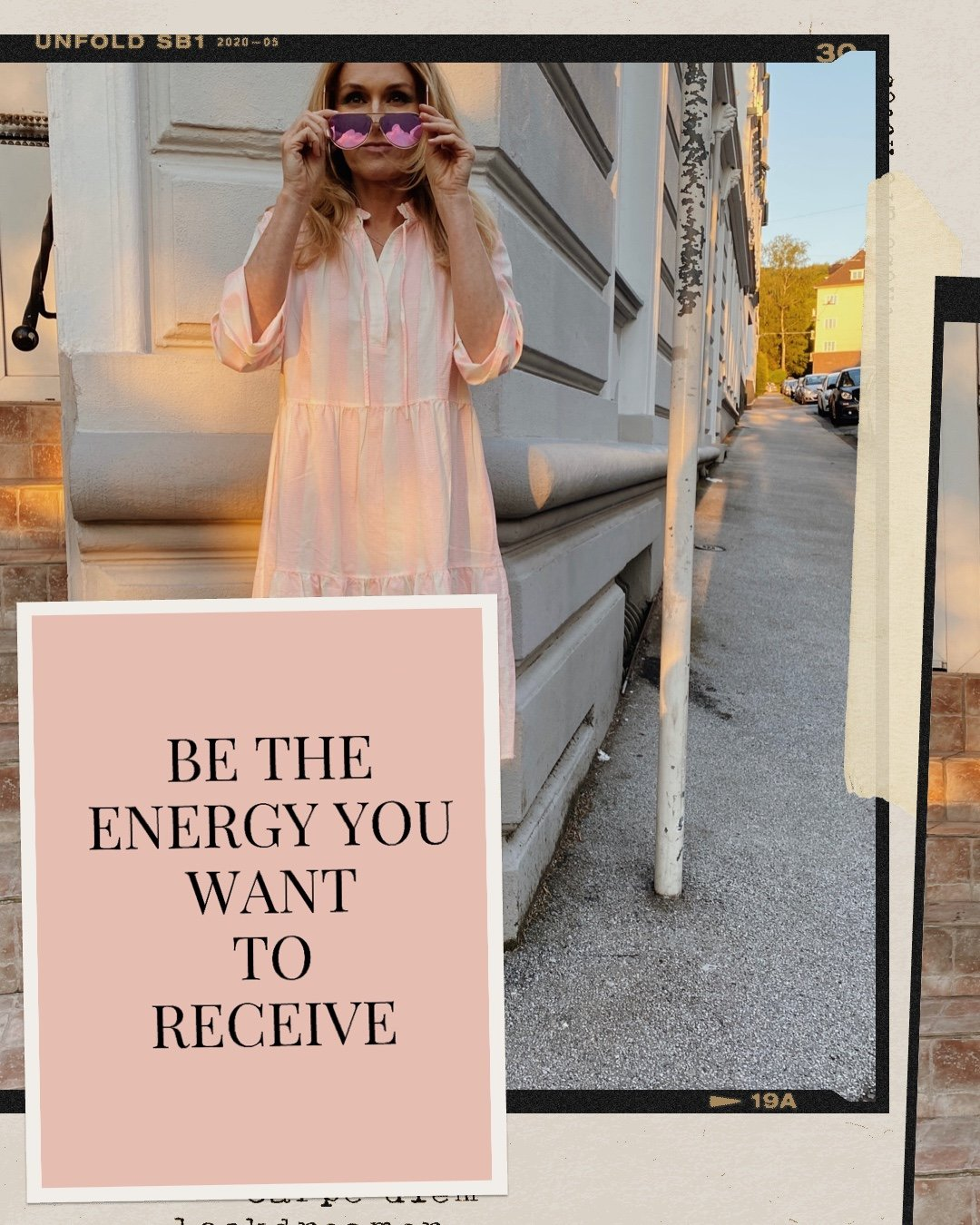 Be the Energy you want to receive Quote